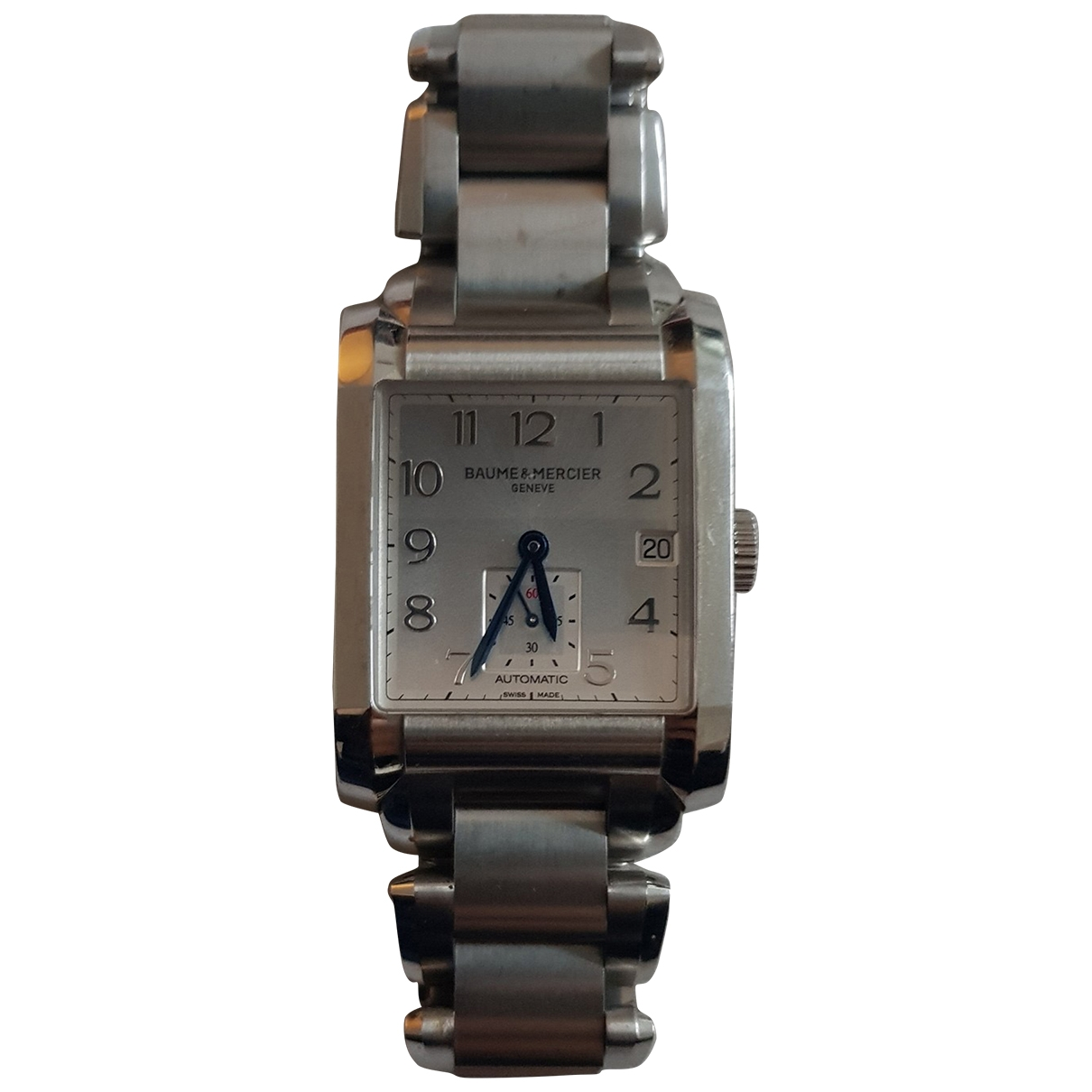 Baume Et Mercier Hampton Uhr in  Metallic Stahl