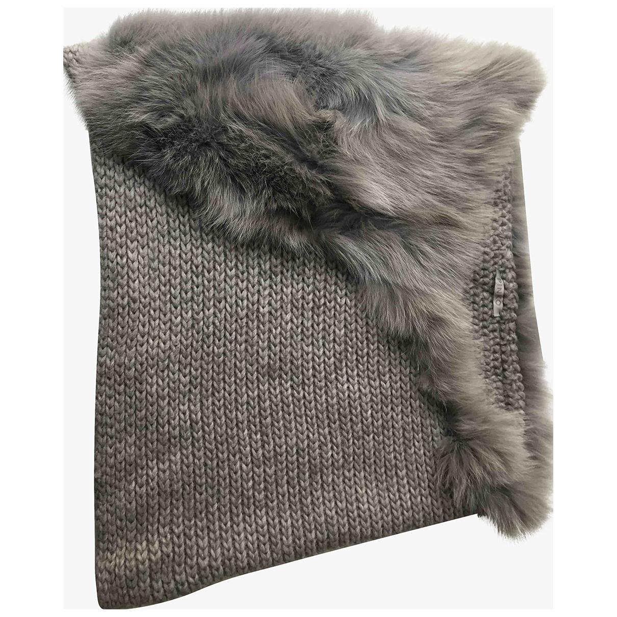 Pinko - Foulard   pour femme en renard - gris