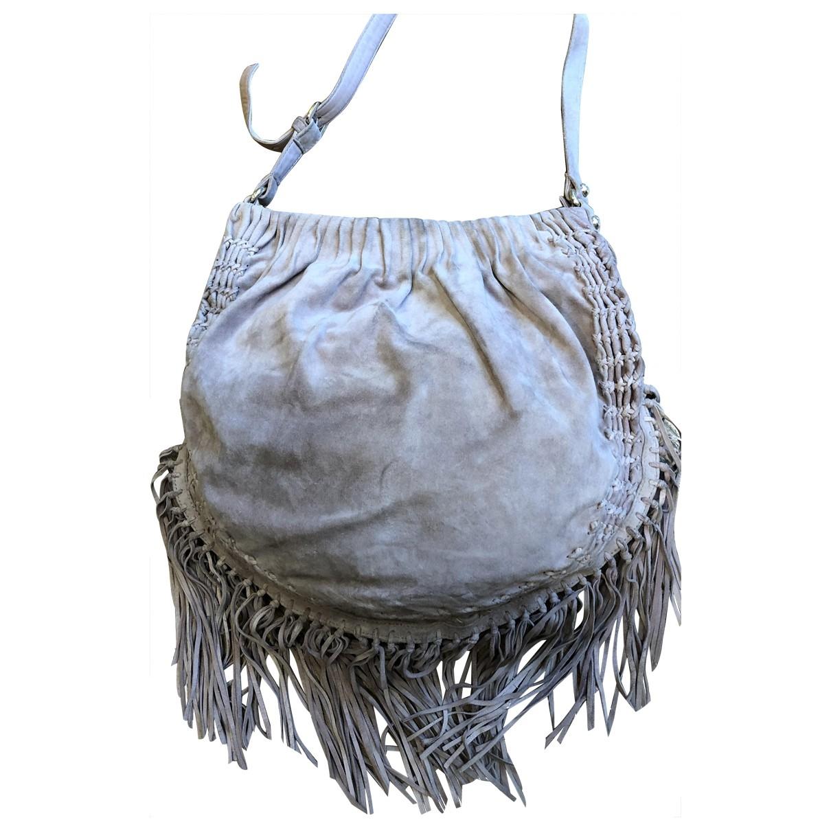 Patrizia Pepe \N Pink Suede handbag for Women \N