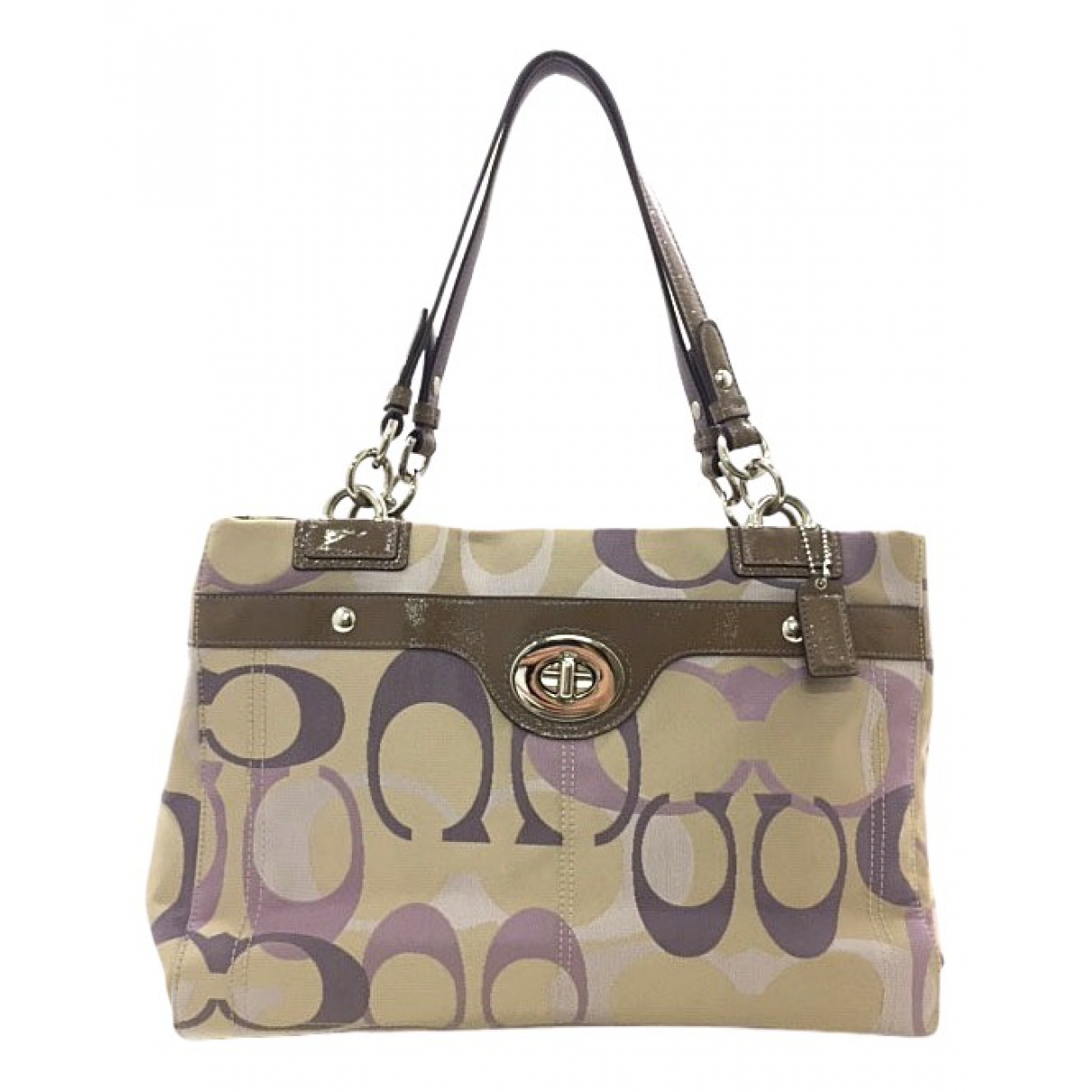 Coach \N Beige Cloth handbag for Women \N
