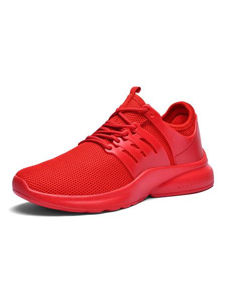 Milanoo Zapatos de cosplay de Fortnite Zapatos de cosplay rojos