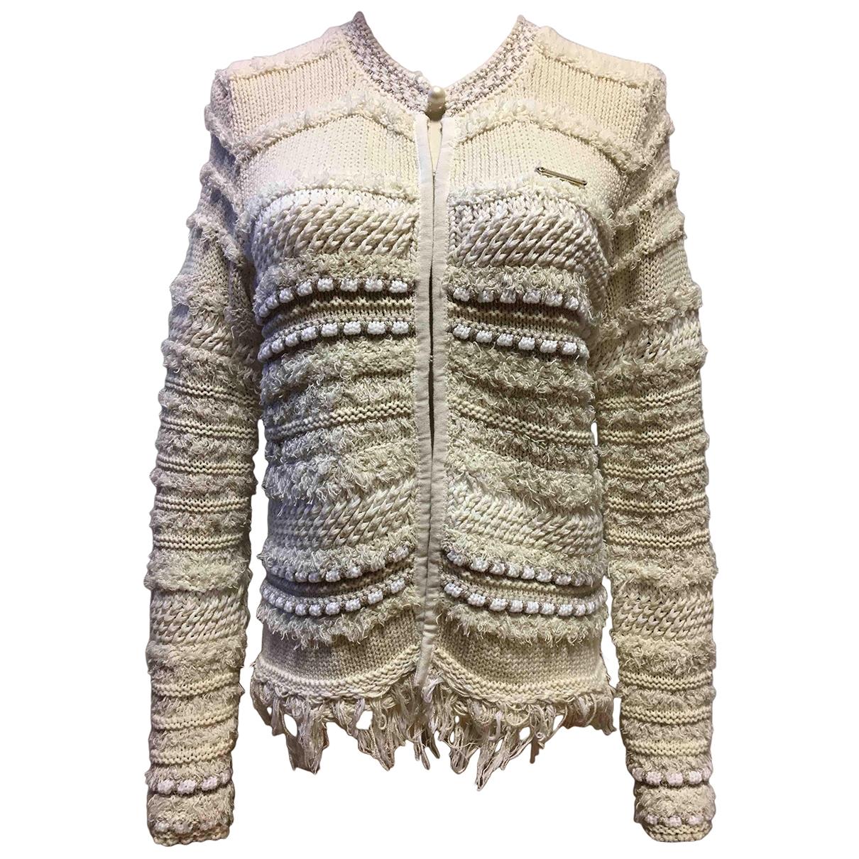 Twin Set \N Ecru Cotton Knitwear for Women S International