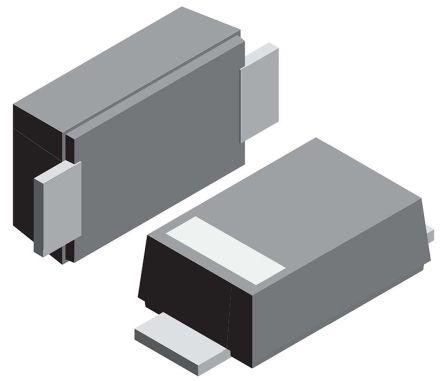 Vishay 200V 1A, Silicon Junction Diode, 2-Pin DO-219AB VS-1EFH02HM3/I (100)