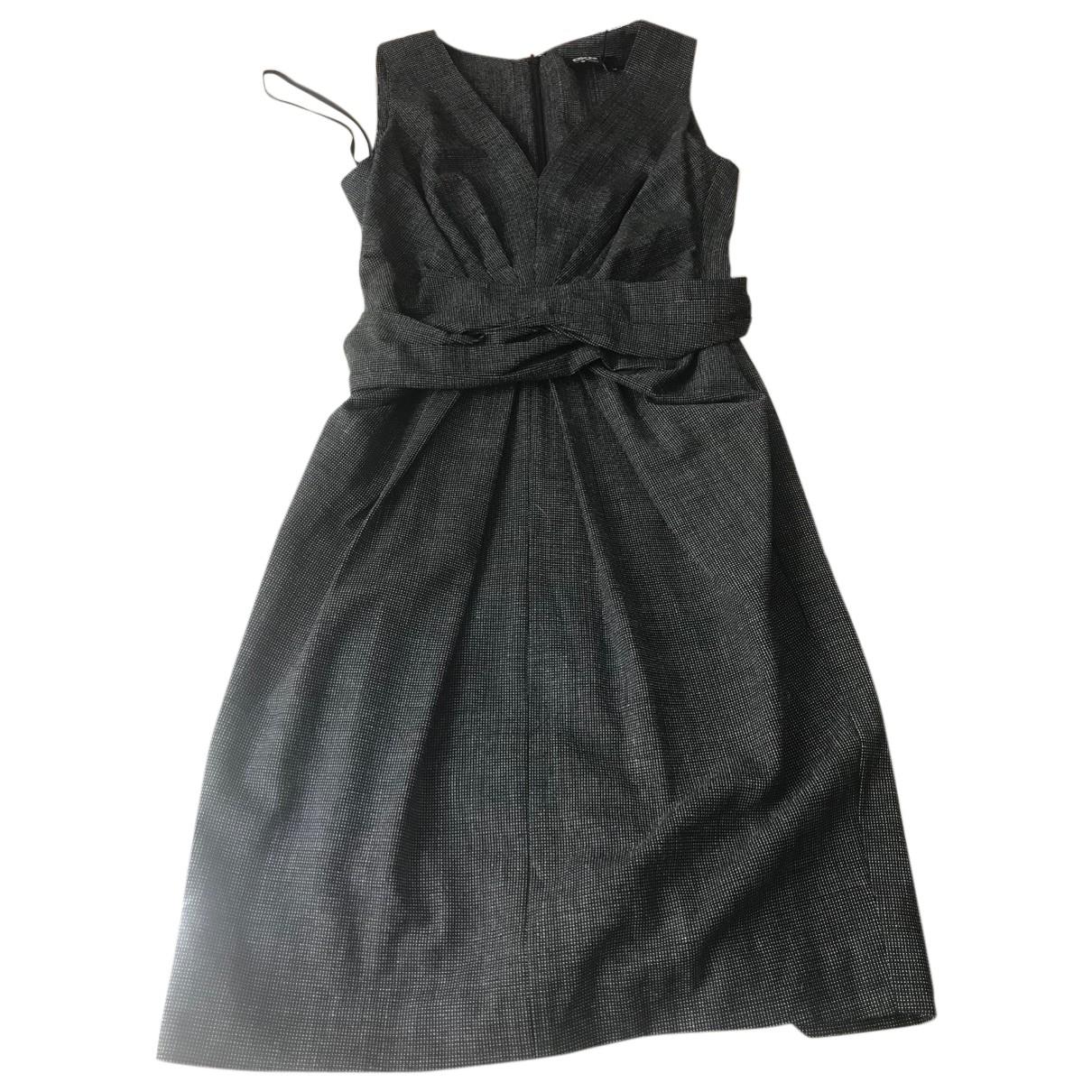 Dkny \N Kleid in  Schwarz Wolle