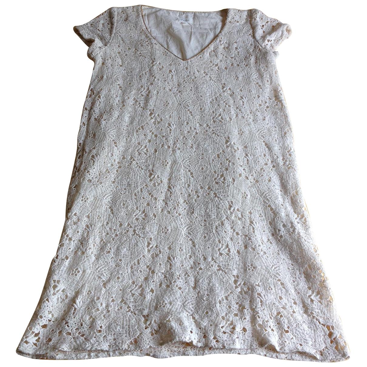 Pablo \N Kleid in  Ecru Baumwolle