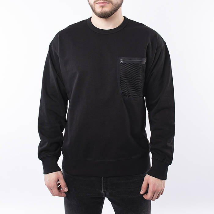 Carhartt WIP Military Mesh Pocket Sweatshirt I027720 BLACK