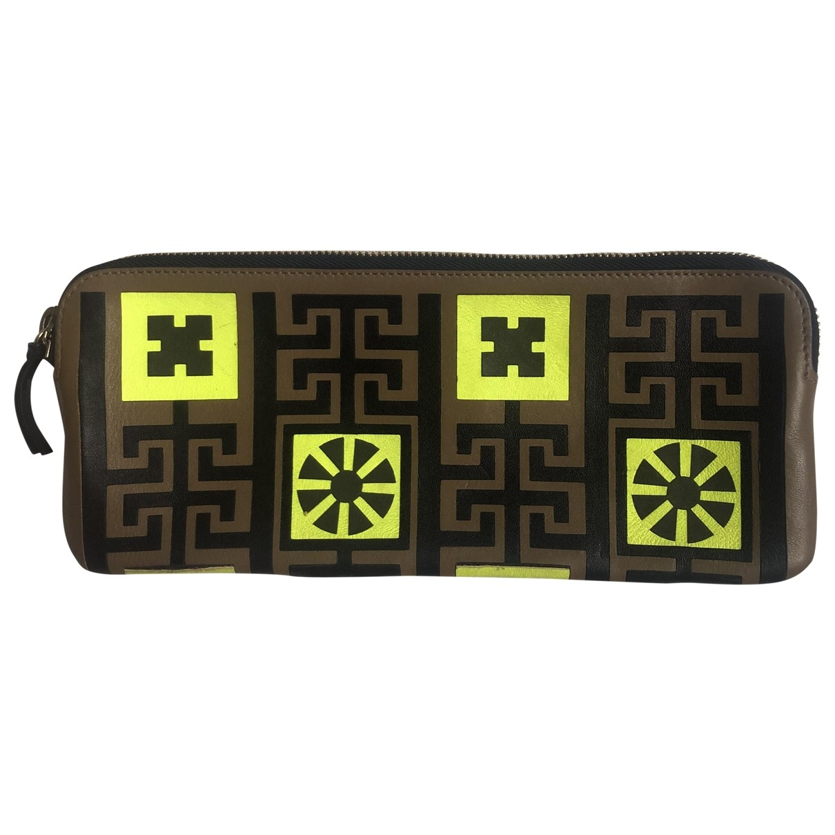 Versace \N Multicolour Leather wallet for Women \N