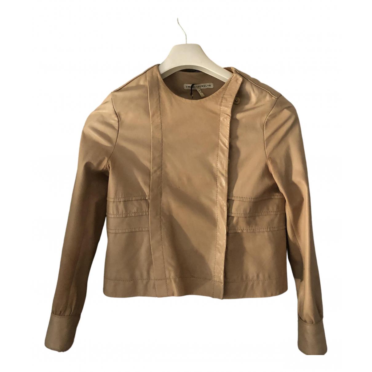 Twenty8twelve By S.miller \N Camel Leather Leather jacket for Women 38 FR