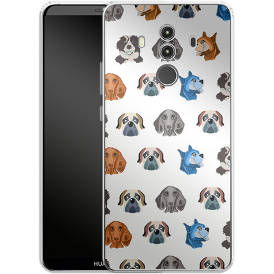 Huawei Mate 10 Pro Silikon Handyhuelle - Dog Love von Mukta Lata Barua