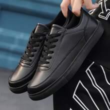 Zapatos patin de hombres con cordon delantero