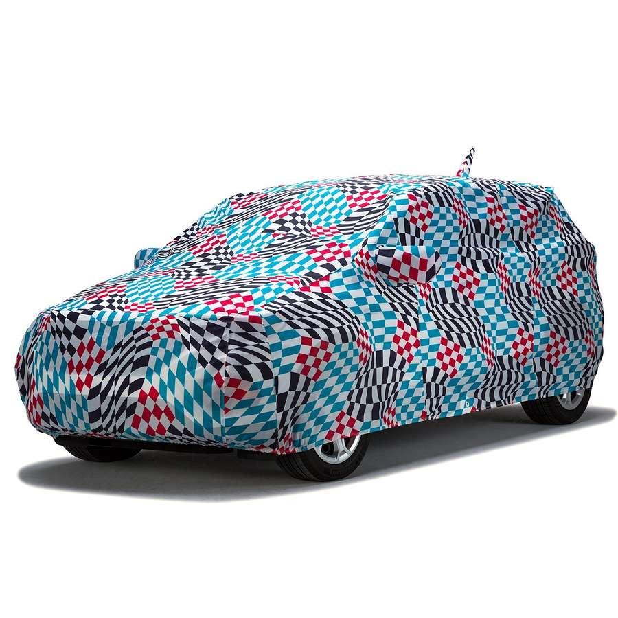 Covercraft C17671KA Grafix Series Custom Car Cover Geometric Maserati Ghibli 2014-2020