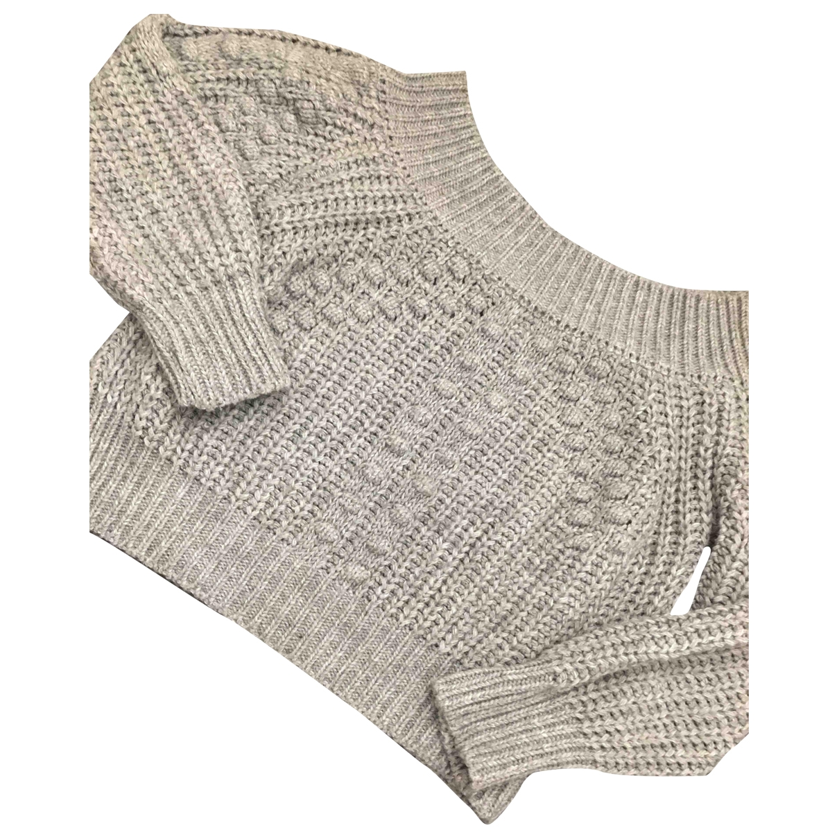 Non Signé / Unsigned \N Anthracite Wool Knitwear for Women S International