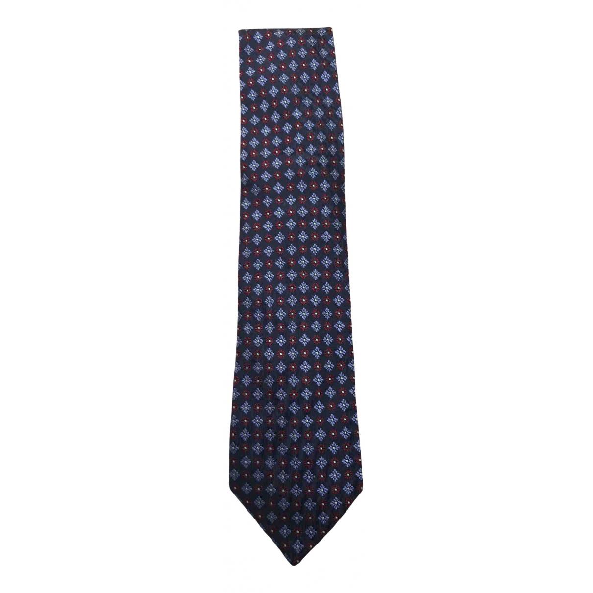 Balenciaga \N Krawatten in  Blau Seide