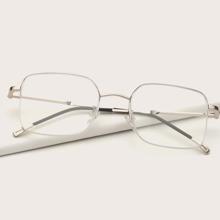 Brille mit quadratischem Rahmen
