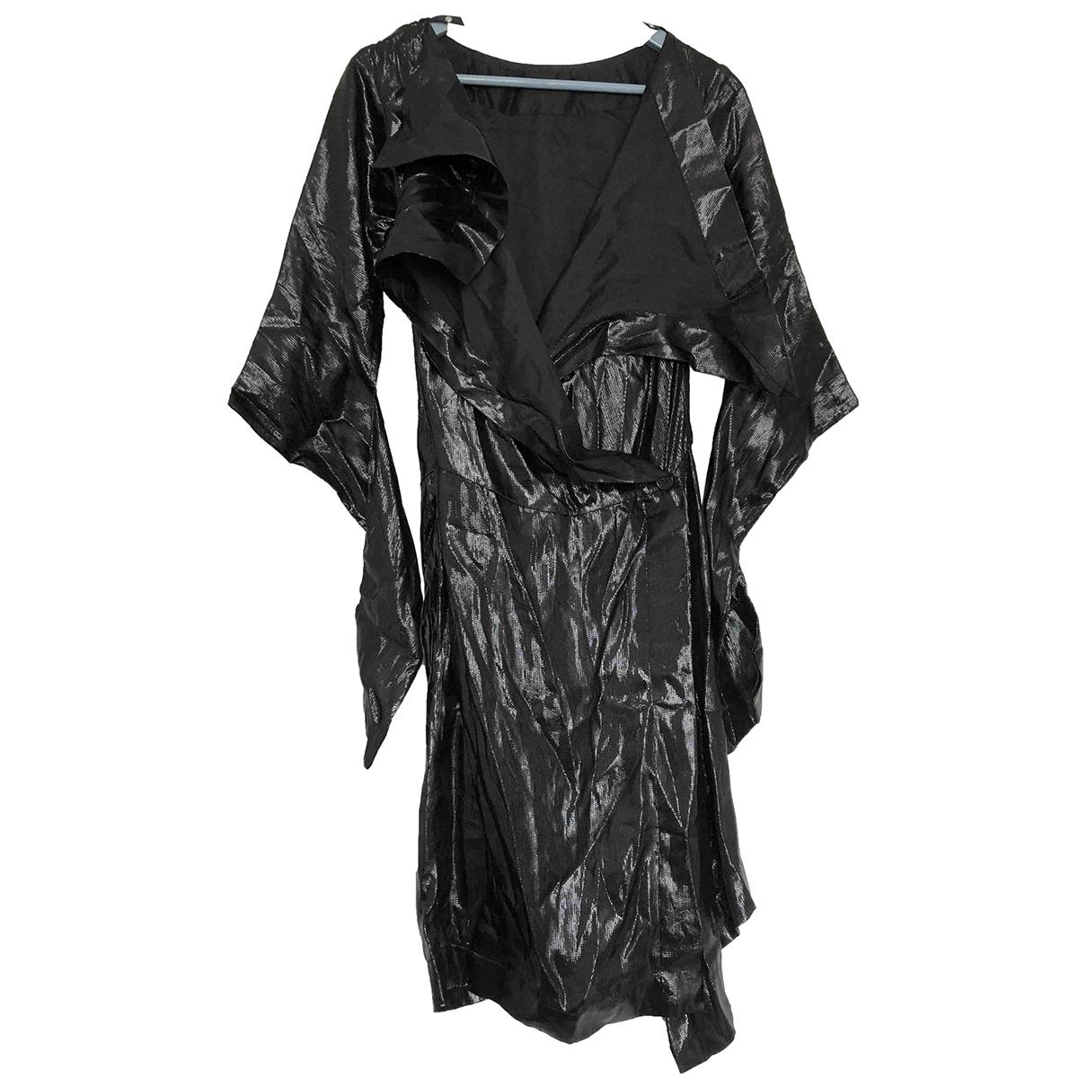 Vivienne Westwood Red Label - Robe   pour femme en soie - noir