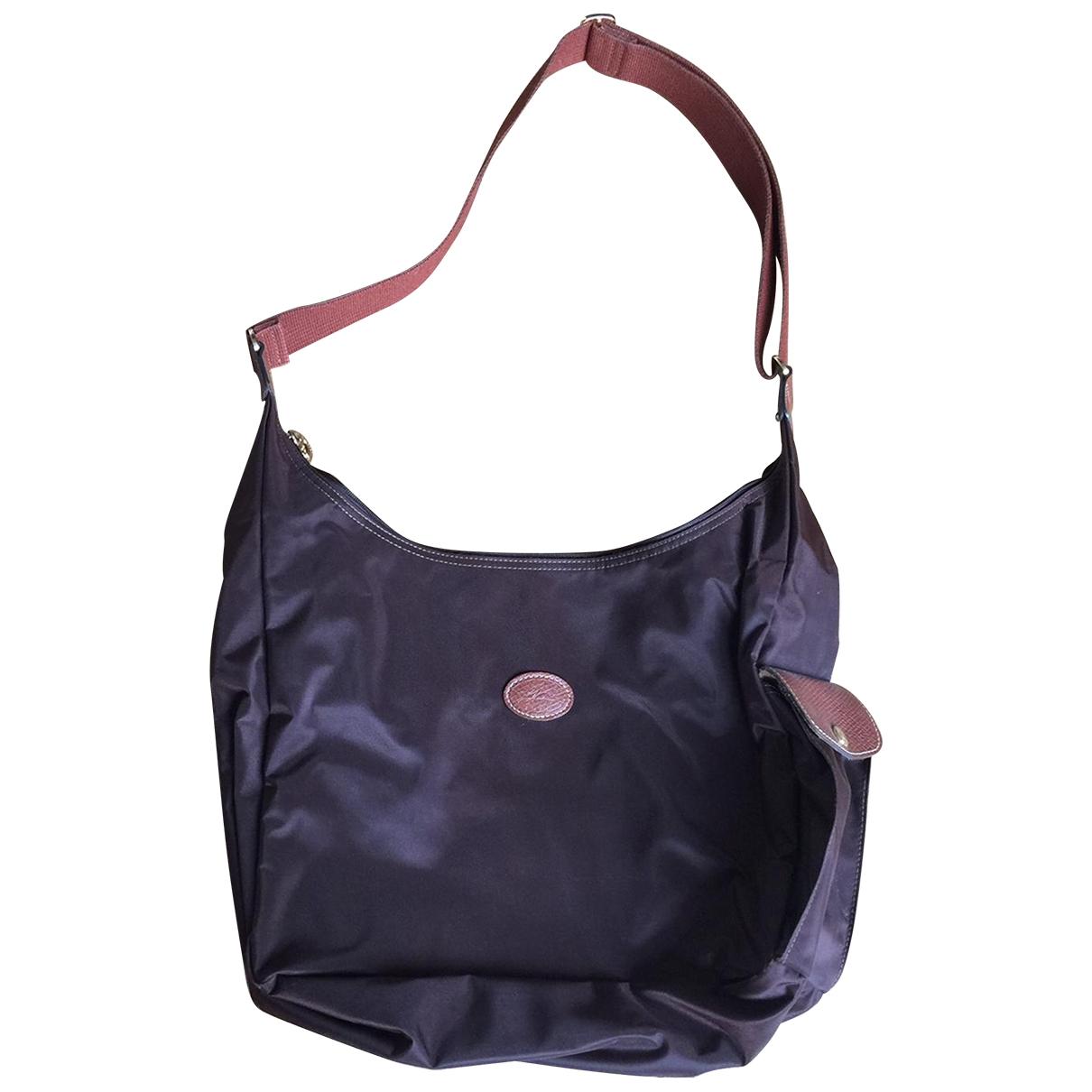Longchamp Pliage  Handtasche in  Braun Polyester