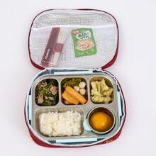 1 Stueck Essentasche mit geometrischem Elch Muster