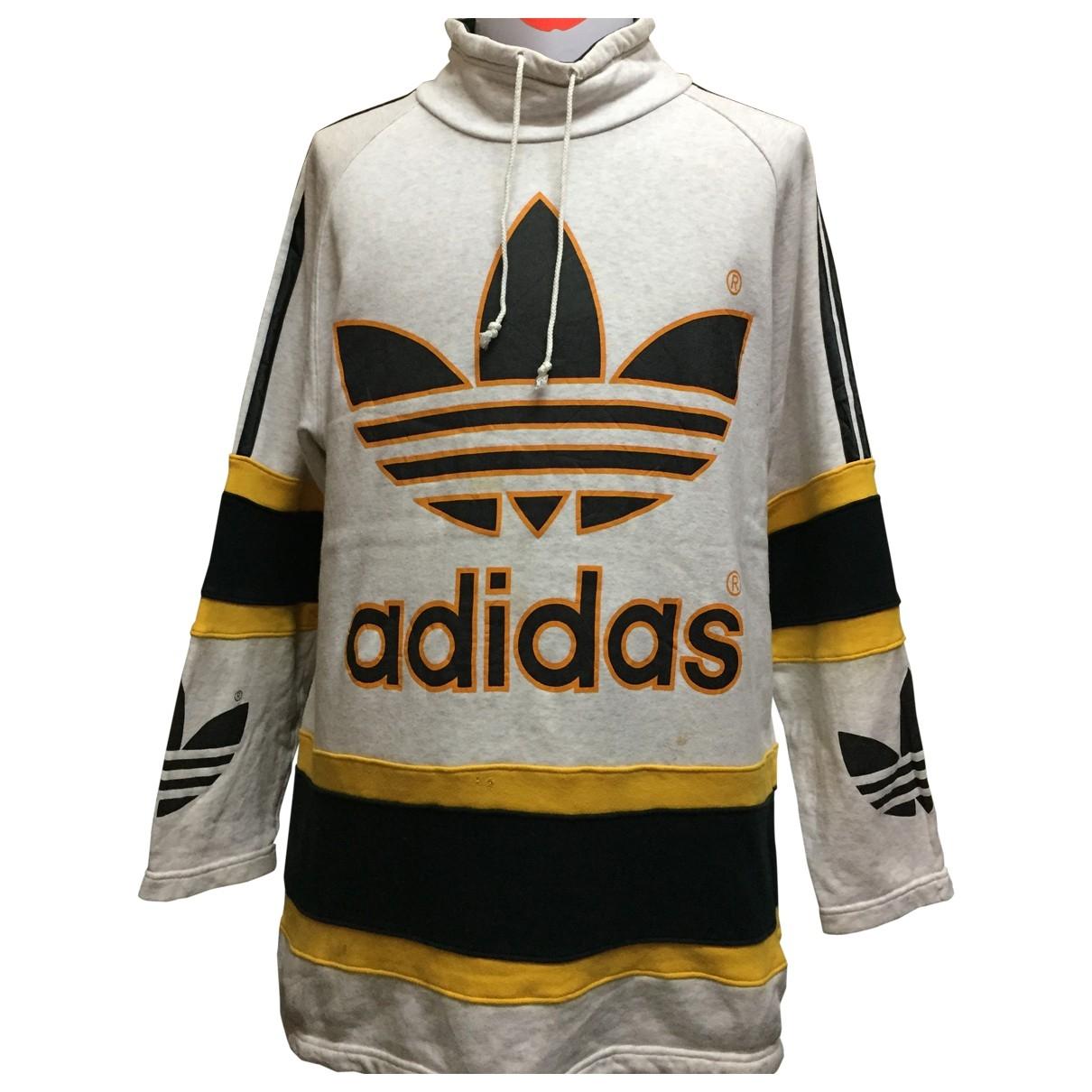 Adidas - Pulls.Gilets.Sweats   pour homme en coton - argente
