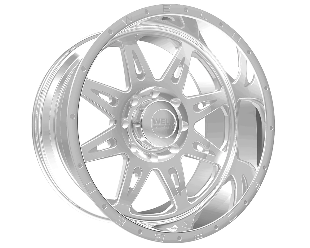 Weld Racing 80A1-24454-760N XT Cheyenne 24x14 5x4.5 -76mm Polished Smooth Lip