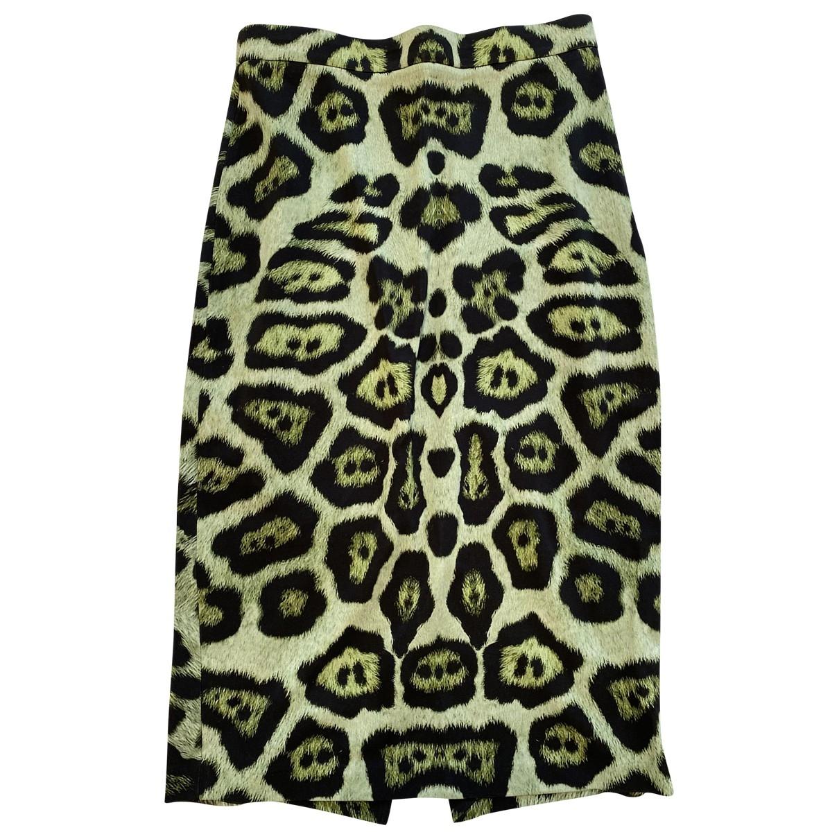 Givenchy \N Rocke in  Gruen Baumwolle - Elasthan