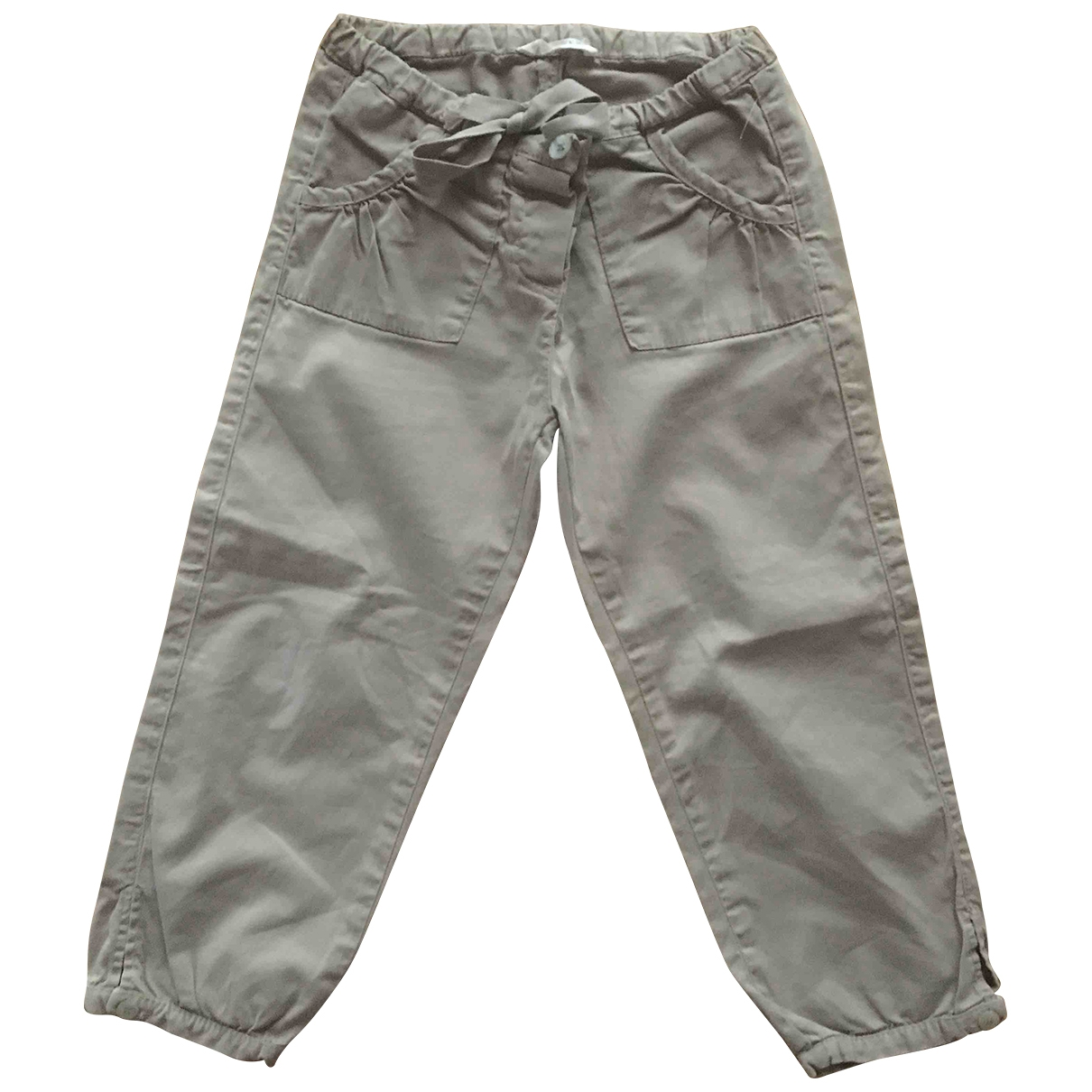 Babe & Tess - Pantalon   pour enfant en coton - beige