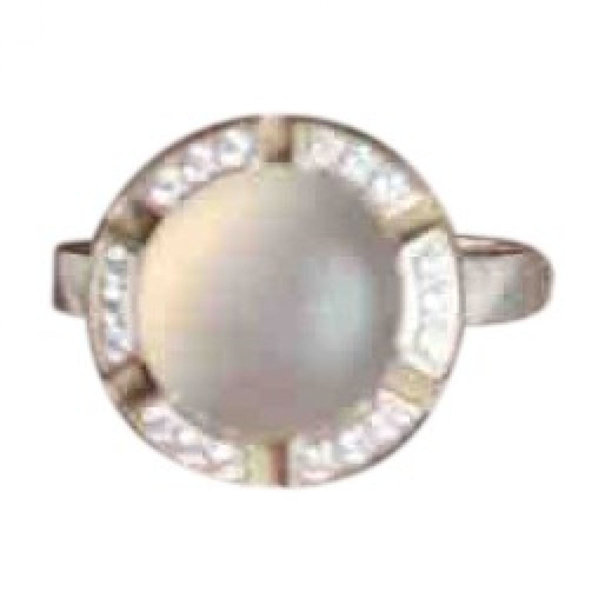 Chaumet Class One Ring in  Weiss Weissgold