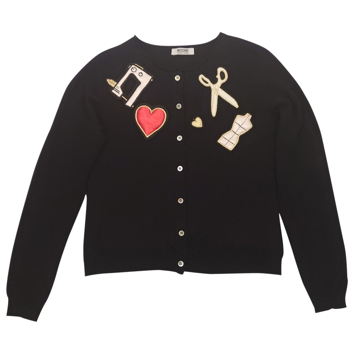 Moschino Cheap And Chic \N Black Wool Knitwear for Women M International