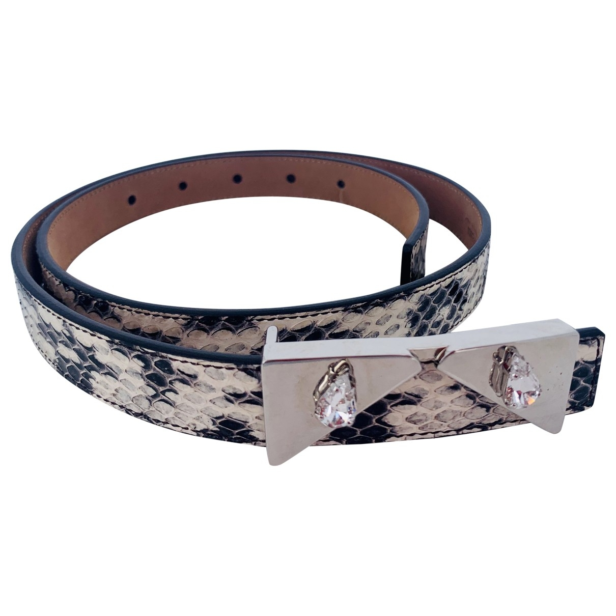 Cinturon de Piton Fendi