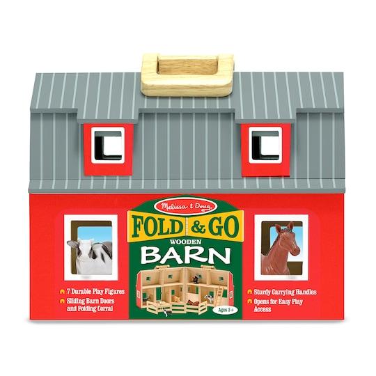 Melissa & Doug® Fold & Go Barn | Michaels®