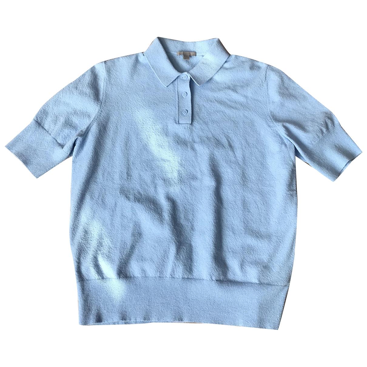 Cos \N Pullover in  Blau Baumwolle