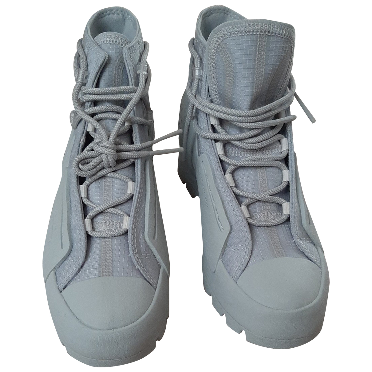 Converse - Baskets   pour femme en caoutchouc - gris
