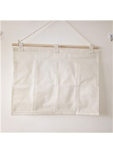 Creative Apresunday Multilayer Plain Color Linen Storage Bag