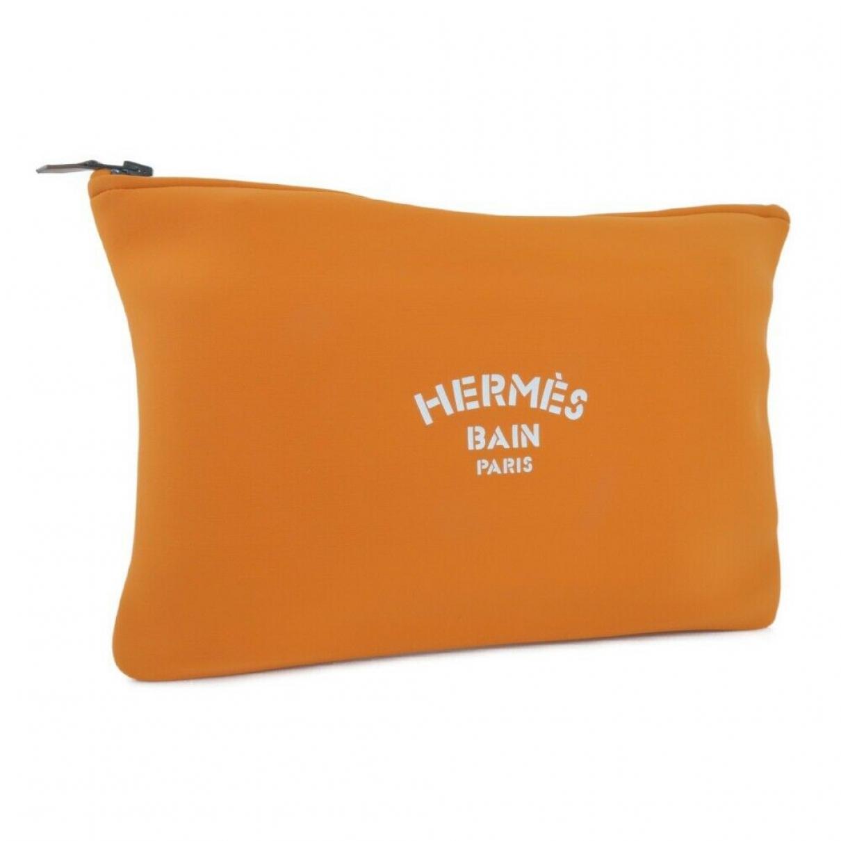 Hermes \N Clutch in Leder