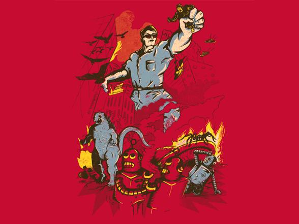 Attack Of Man T Shirt