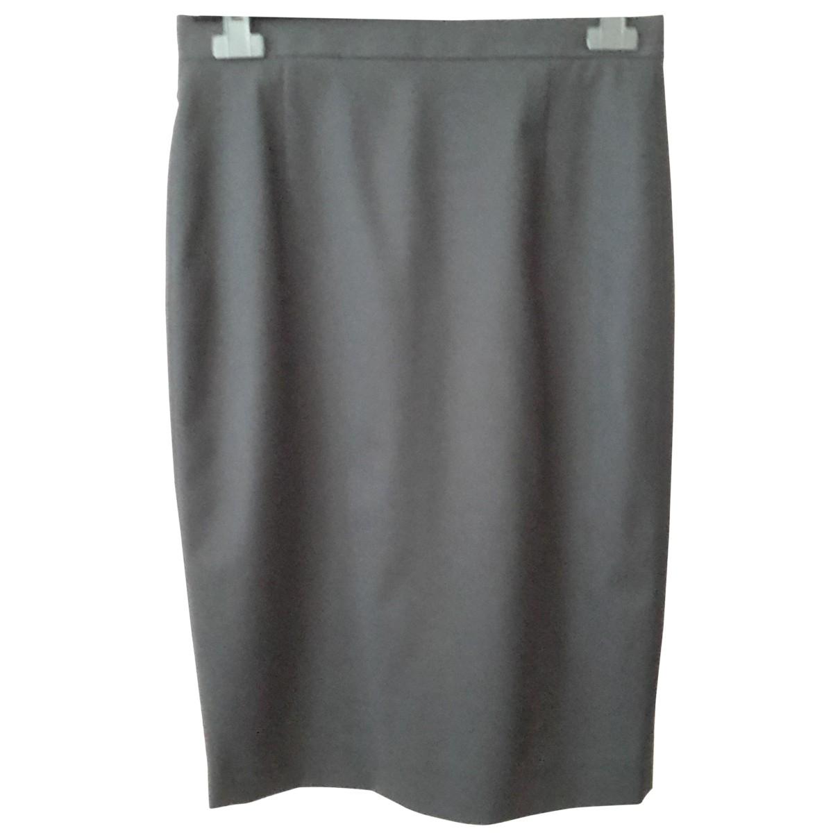 Dsquared2 \N Black Wool skirt for Women 44 IT