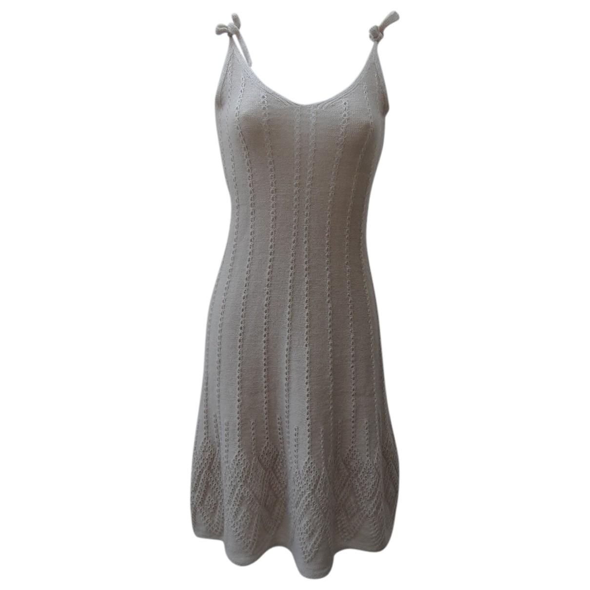Marni - Robe   pour femme en laine - beige