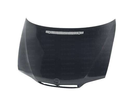Seibon HD0205BMWE464D-OE OEM Style Carbon Fiber Hood BMW 3-Series 4dr E46 02-05