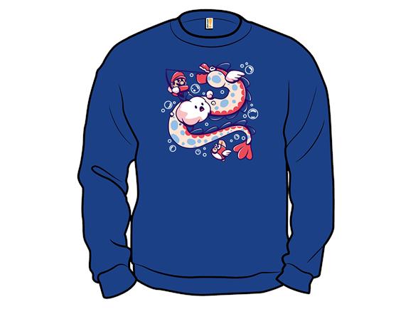 Fishing Time Crewneck Sweatshirt