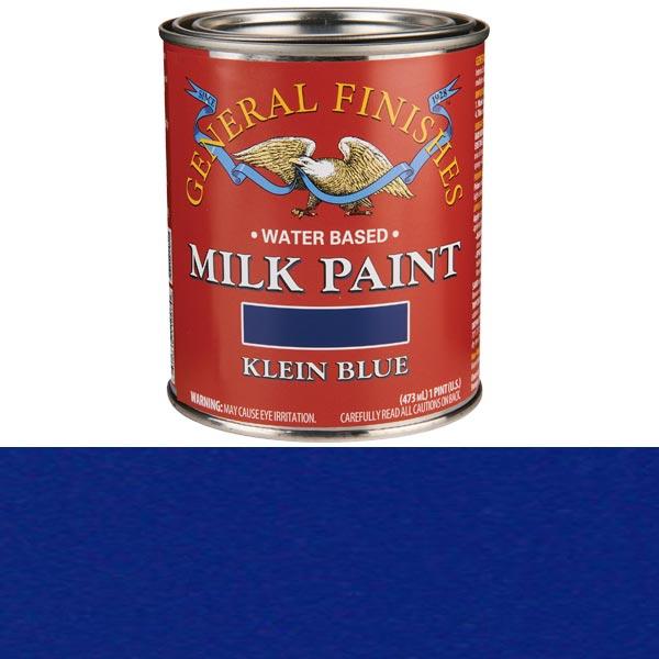 Klein Blue Milk Paint Water Based Pint