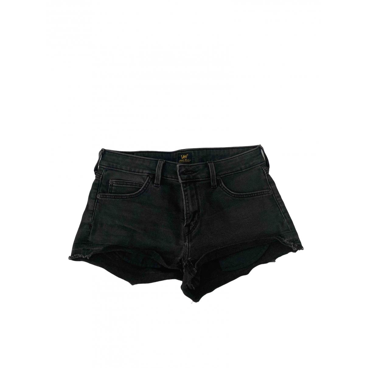 Lee \N Shorts in  Schwarz Denim - Jeans