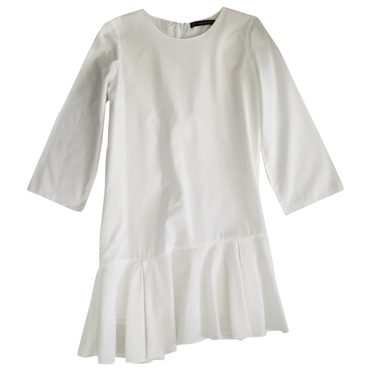 Zara \N White Cotton dress for Women M International