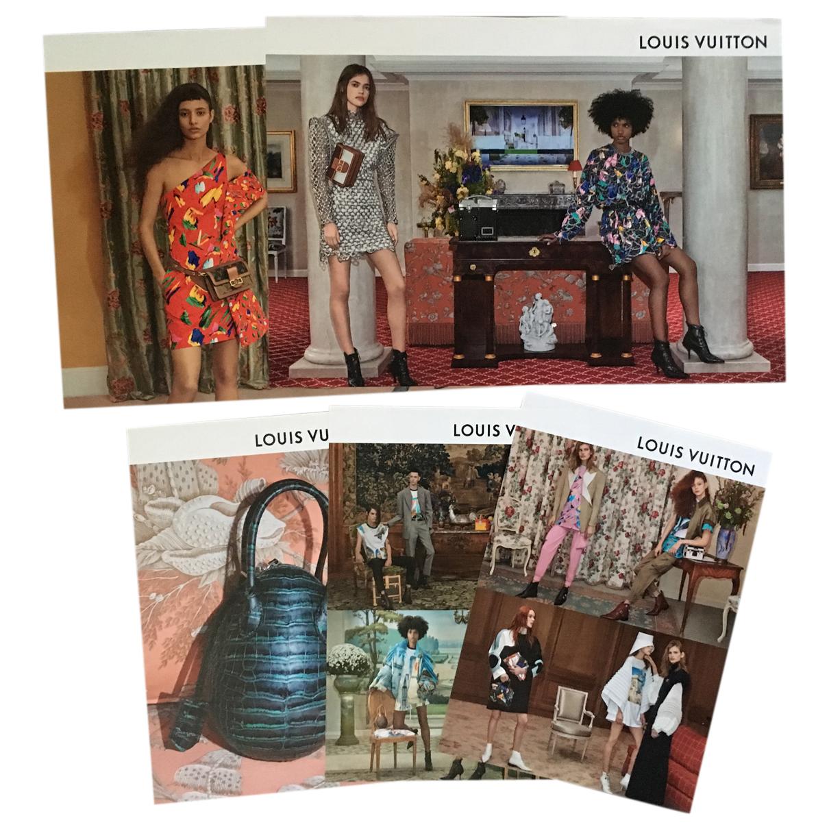 Louis Vuitton - Photographie   pour lifestyle en autre - multicolore
