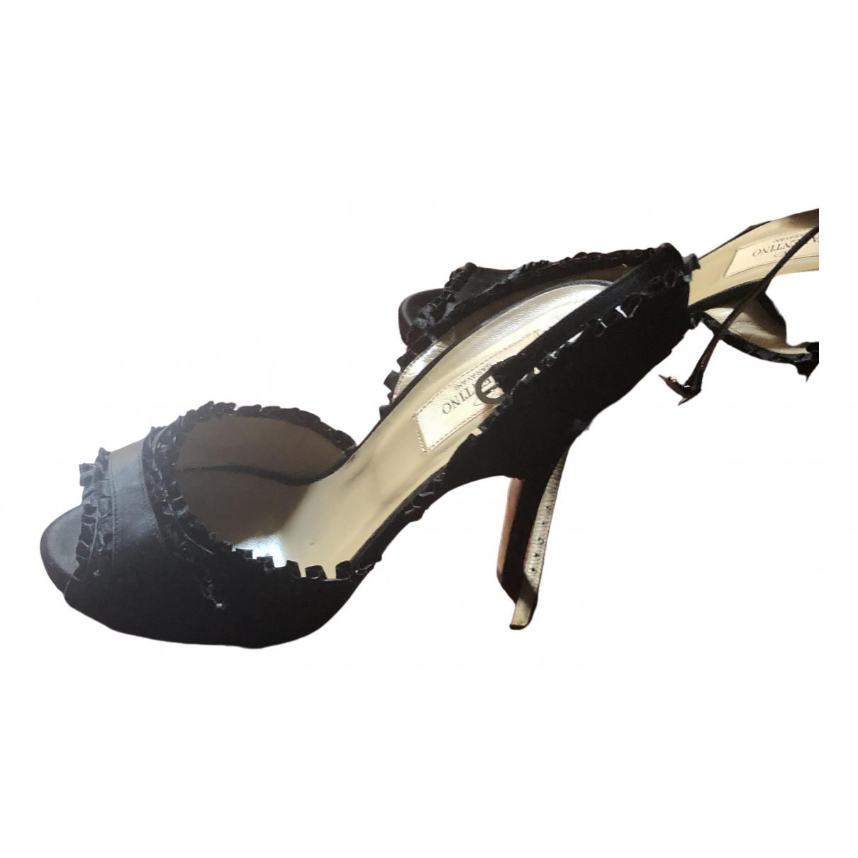 Sandalias de Lona Valentino Garavani