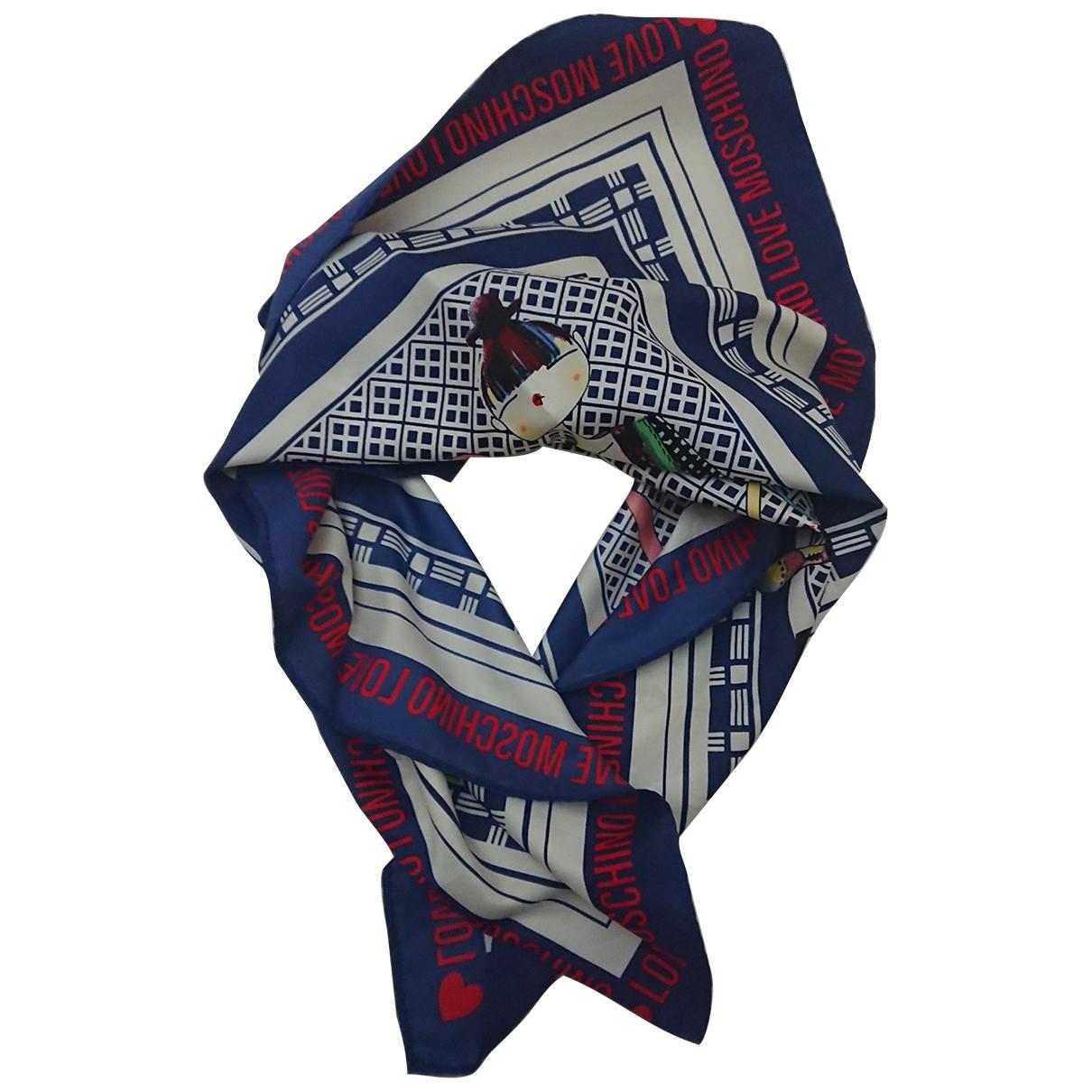 Moschino Love \N Blue scarf for Women \N