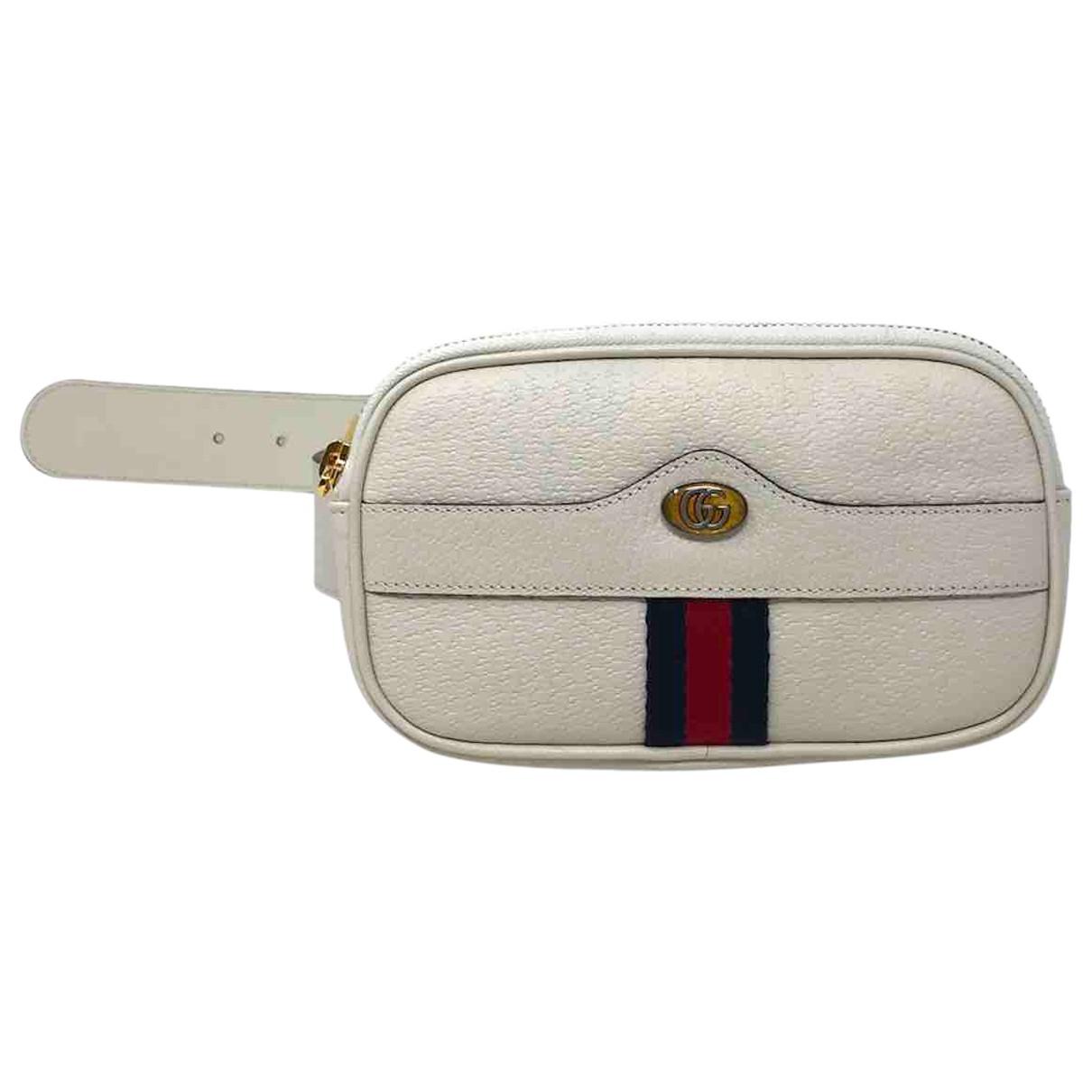 Gucci N White Leather Clutch bag for Women N