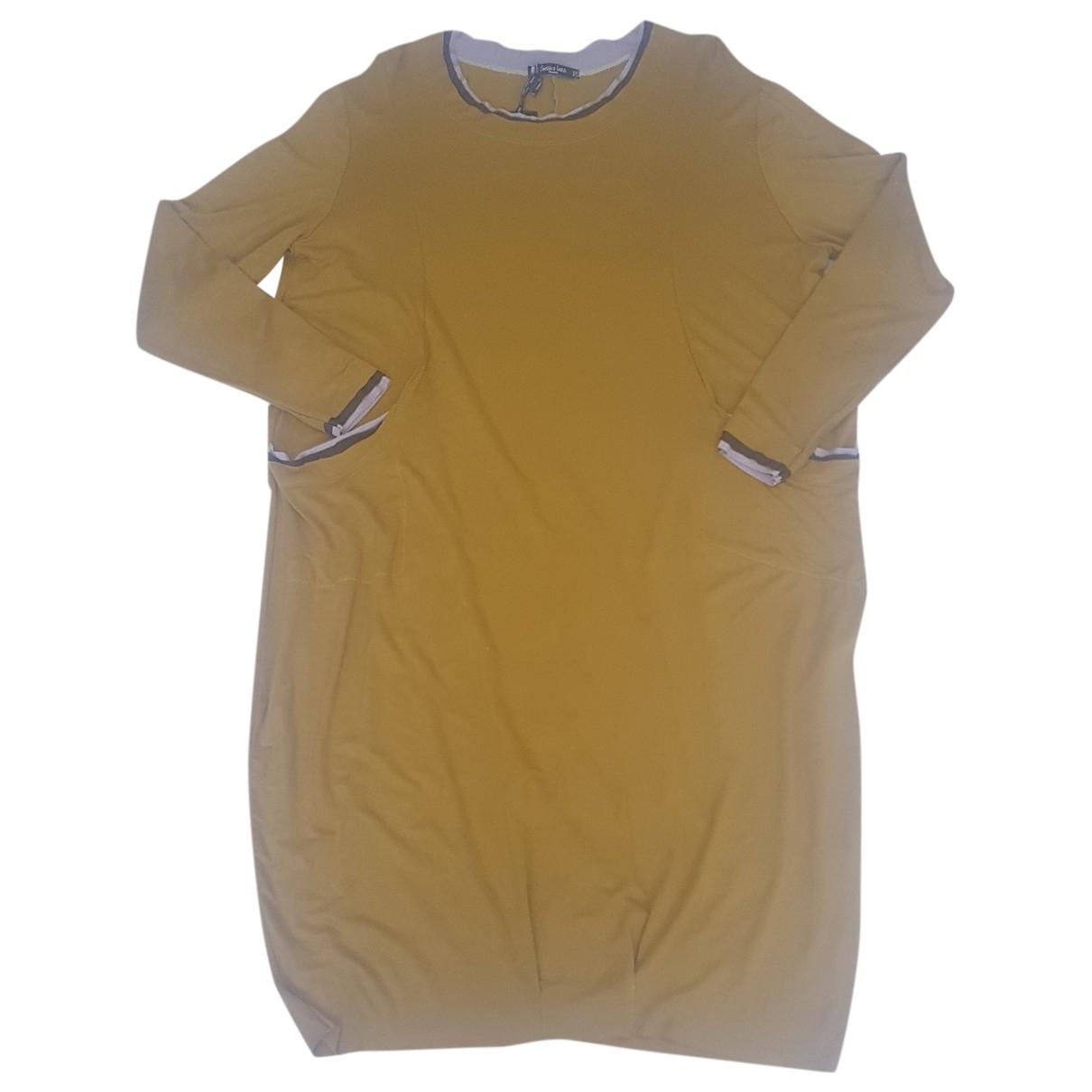 Gessica Iezzi - Robe   pour femme - jaune