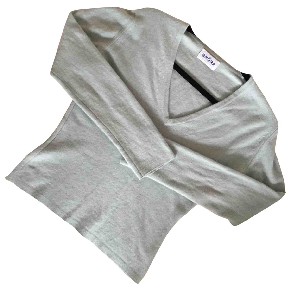 Brora - Pull   pour femme en cachemire - turquoise