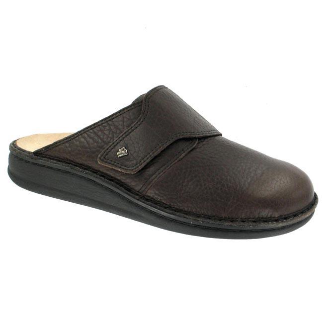 Finn Comfort Amalfi Mocha Leather Soft Footbed 45