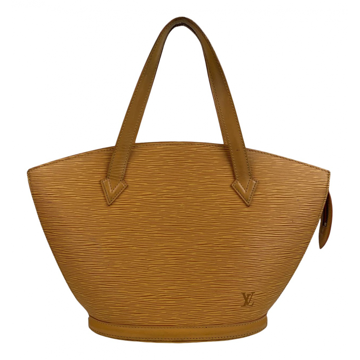 Louis Vuitton Saint Jacques Yellow Leather handbag for Women N