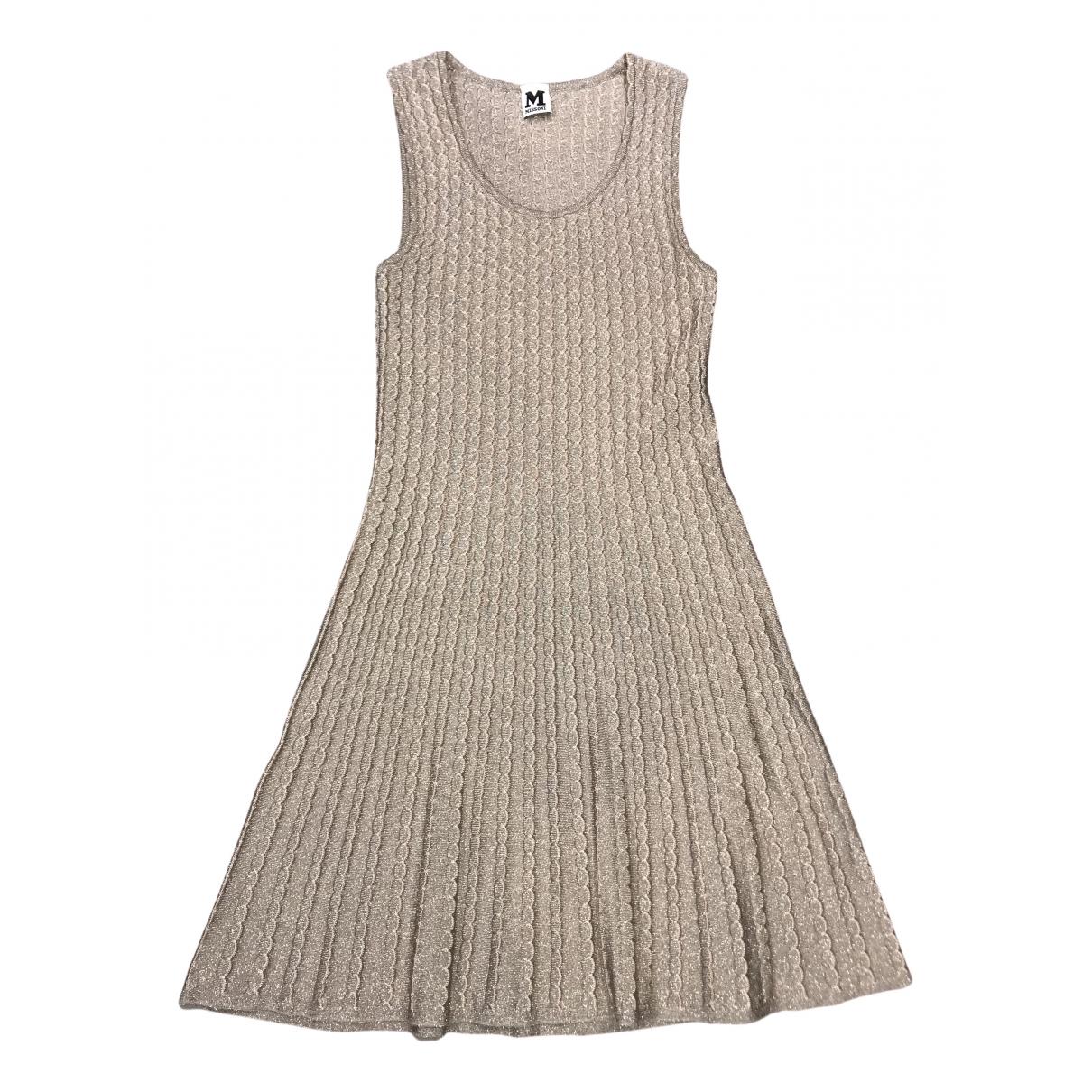 M Missoni - Robe   pour femme - beige